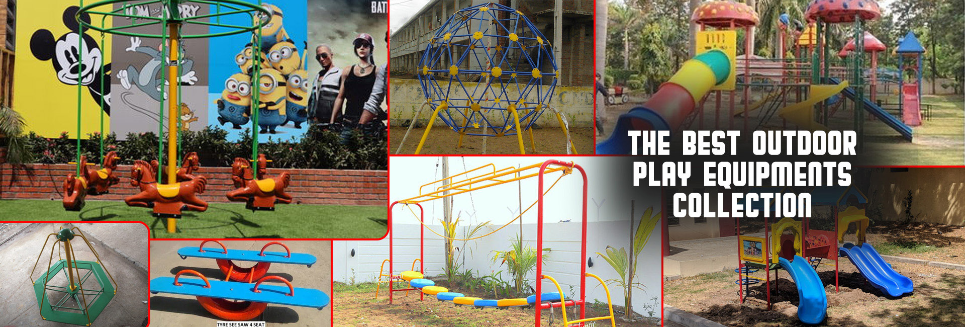 The Best Outdoor Play Equipment Collection Manufacturer in Andhra Pradesh, Arunachal Pradesh, Assam, Bihar, Chhattisgarh, Goa